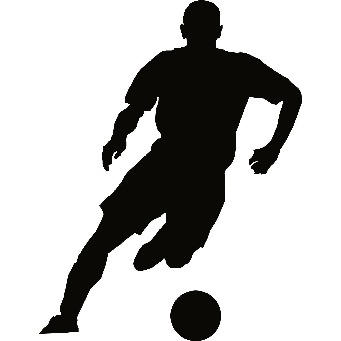Soccer Silhouette Stock Images RoyaltyFree Images